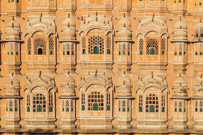 Hawa Mahal, the Palace of Winds, Jaipur, Rajasthan, India. Hawa Mahal, the Palace of Winds, Jaipur, Rajasthan, Indian stock images