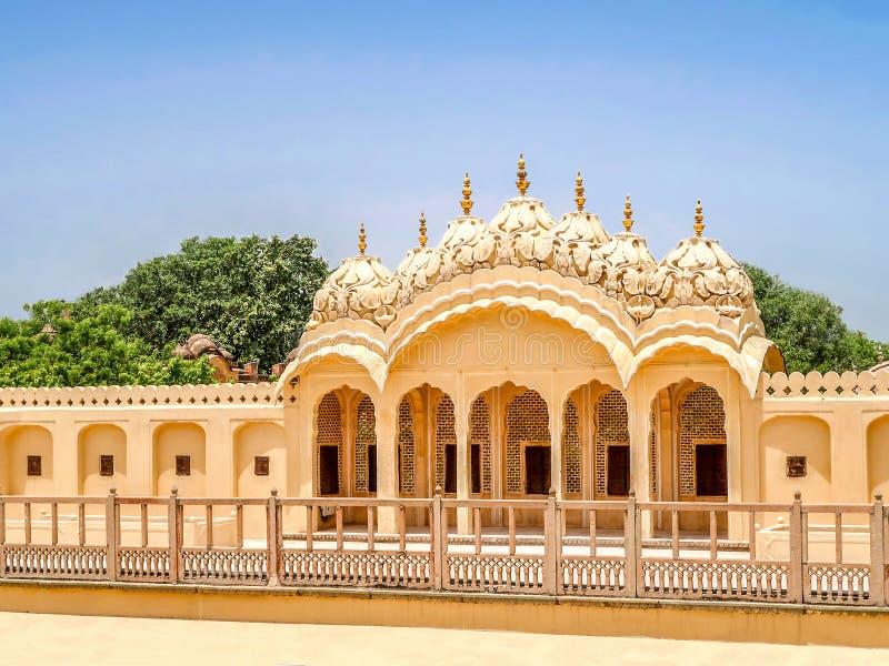 Hawa Mahal, the Palace of Winds, Jaipur, Rajasthan, India. Inside of Hawa Mahal, the Palace of Winds, Jaipur, Rajasthan, India royalty free stock image