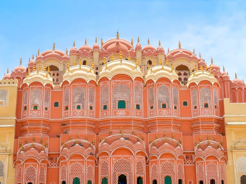 Hawa Mahal, the Palace of Winds, Jaipur, Rajasthan, India. Inside of Hawa Mahal, the Palace of Winds, Jaipur, Rajasthan, India stock photography