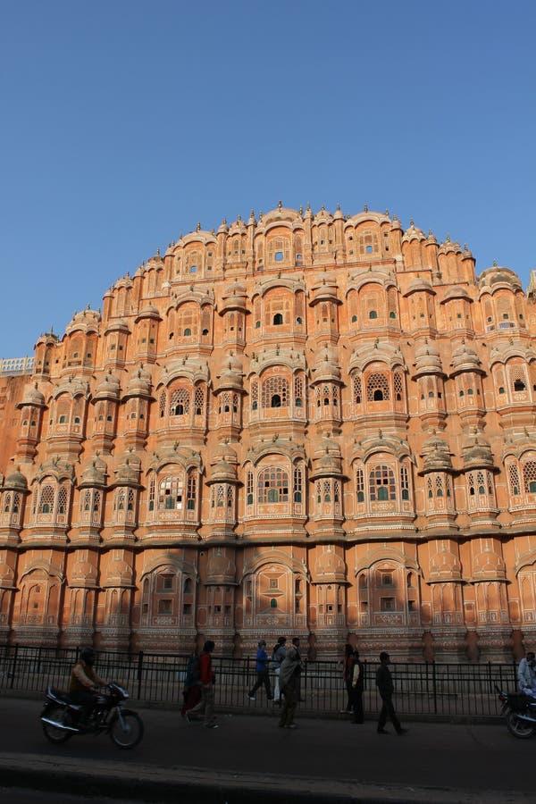 Hawa Mahal-paleis, India stock fotografie