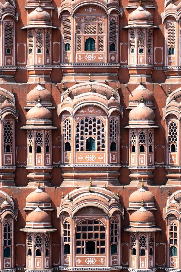 Hawa Mahal - paleis in Jaipur royalty-vrije stock foto's