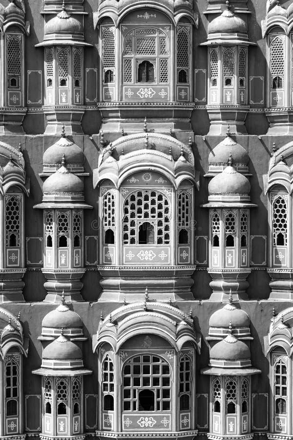Hawa Mahal - slott i Jaipur royaltyfri foto