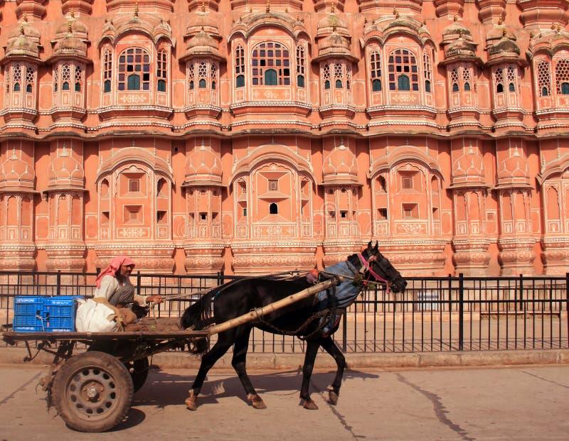 Hawa w Jaipur Mahal. India. zdjęcie royalty free