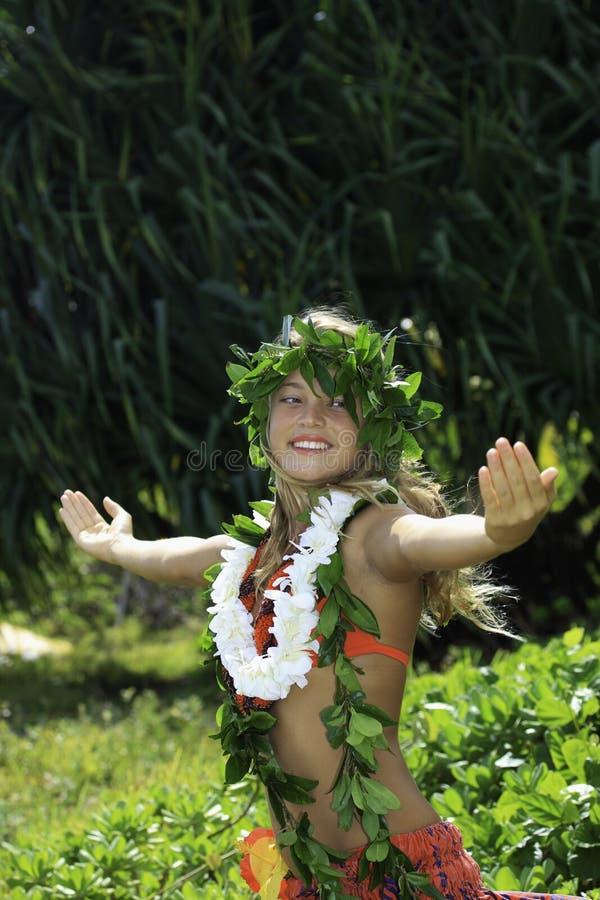 hawaiansk hula arkivfoto