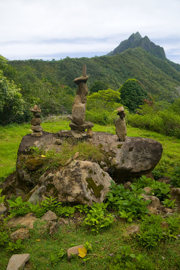hawaianska stenar arkivbild