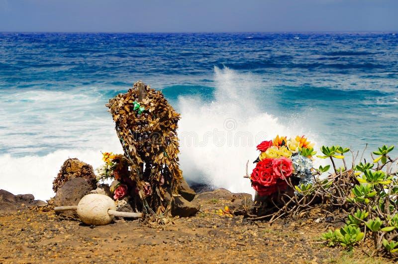 hawaianskt erbjuda royaltyfri fotografi