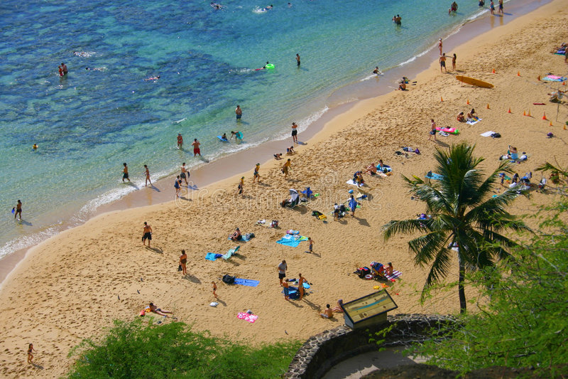 Hawaii Beach royalty free stock images