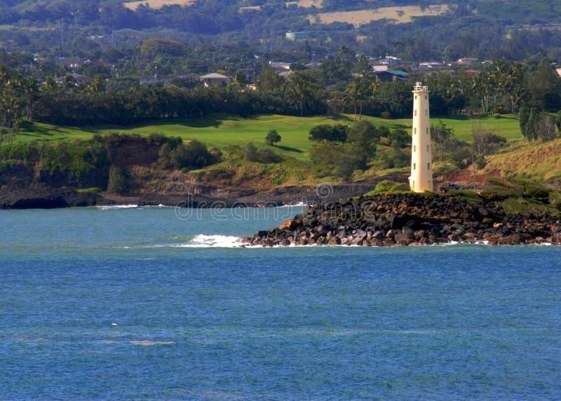 hawaii fyr royaltyfria foton
