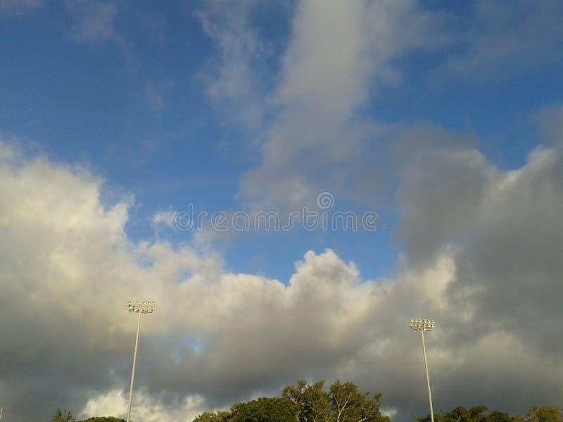 Hawaii himmel arkivbilder