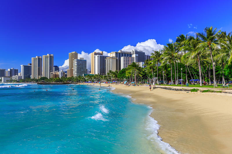 hawaii Honolulu fotografia stock