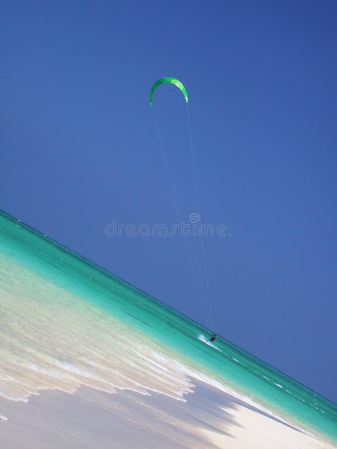 hawaii kitesurfer obraz stock