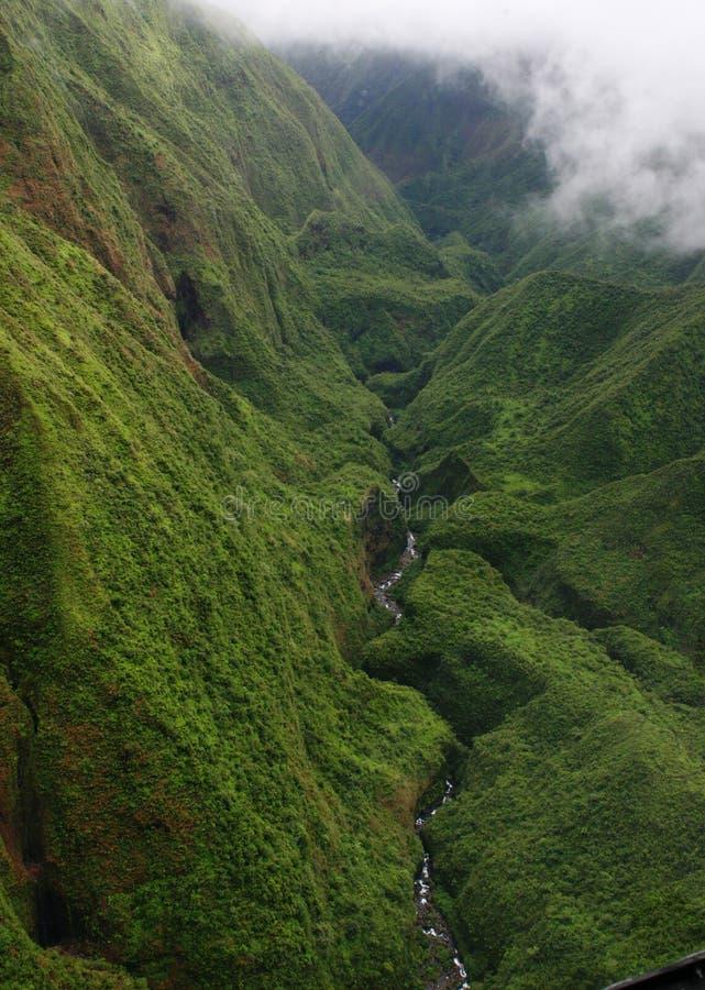 Hawaii landskap fotografering för bildbyråer