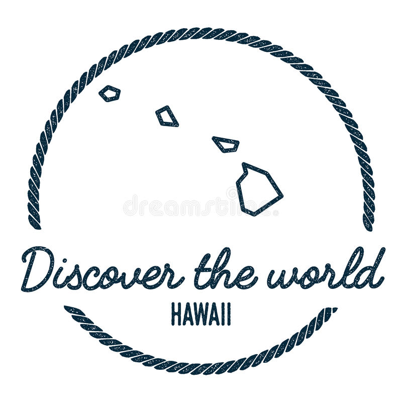 Hawaii map outline vintage discover the world stock vector download hawaii map outline vintage discover the world stock vector illustration of northern gumiabroncs Gallery