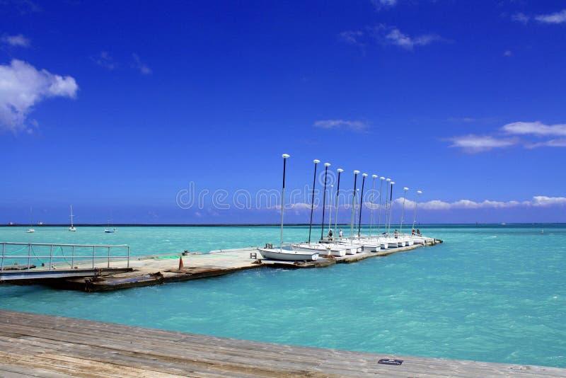 Hawaii Marina royalty free stock image