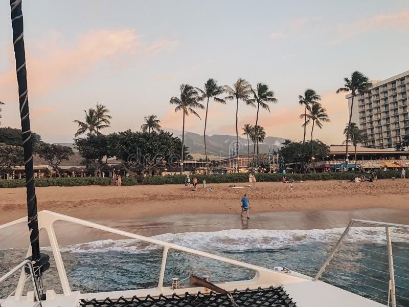Hawaii Maui 2018 stockfotos