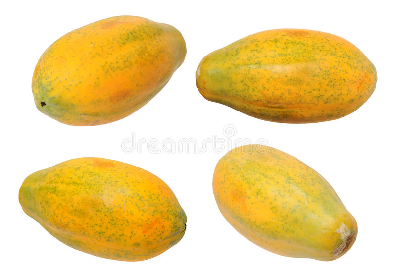 Hawaii-Papaya stockfoto