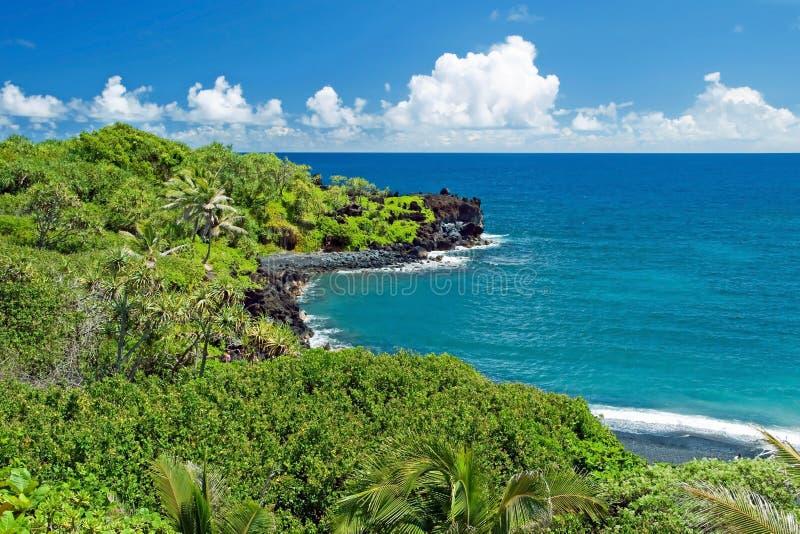 Hawaii paradis på den Maui ön arkivfoton
