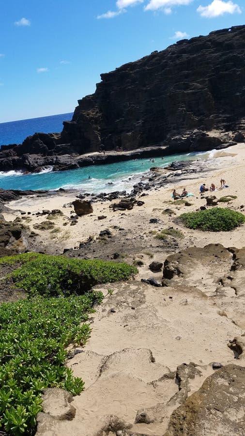 Hawaii& x27 ; plages et coucher du soleil de s photographie stock