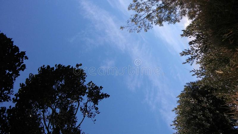 Hawaii sky royalty free stock photos