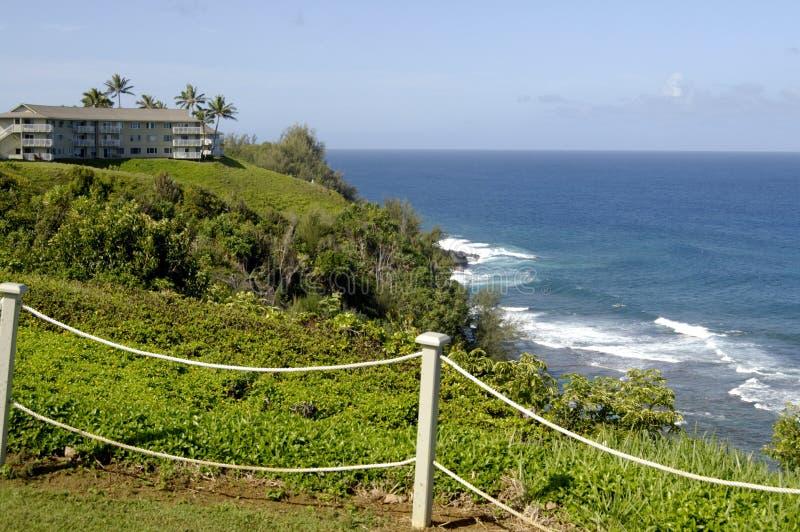 HAWAII_USA_vationers an theclif Erholungsort lizenzfreie stockfotografie