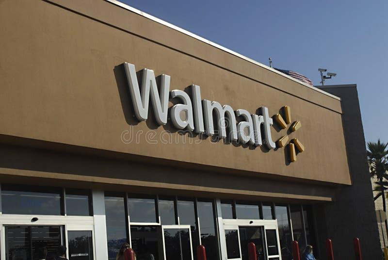 HAWAII_USA_Walmart Shopping Bags Editorial Photography