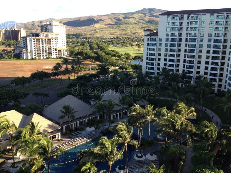 Hawaiiaans Mountain View royalty-vrije stock afbeeldingen