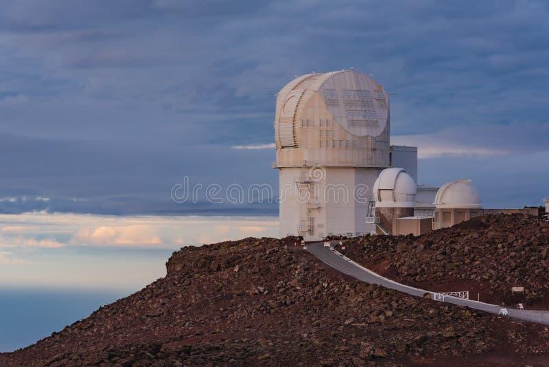 Hawaiiaans Wetenschapswaarnemingscentrum stock afbeeldingen