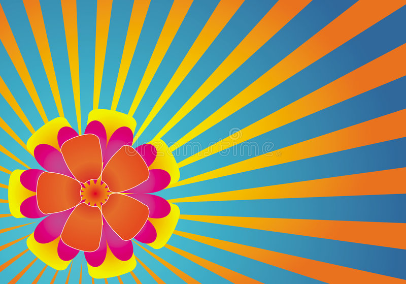 Hawaiiaanse Bloemen royalty-vrije illustratie
