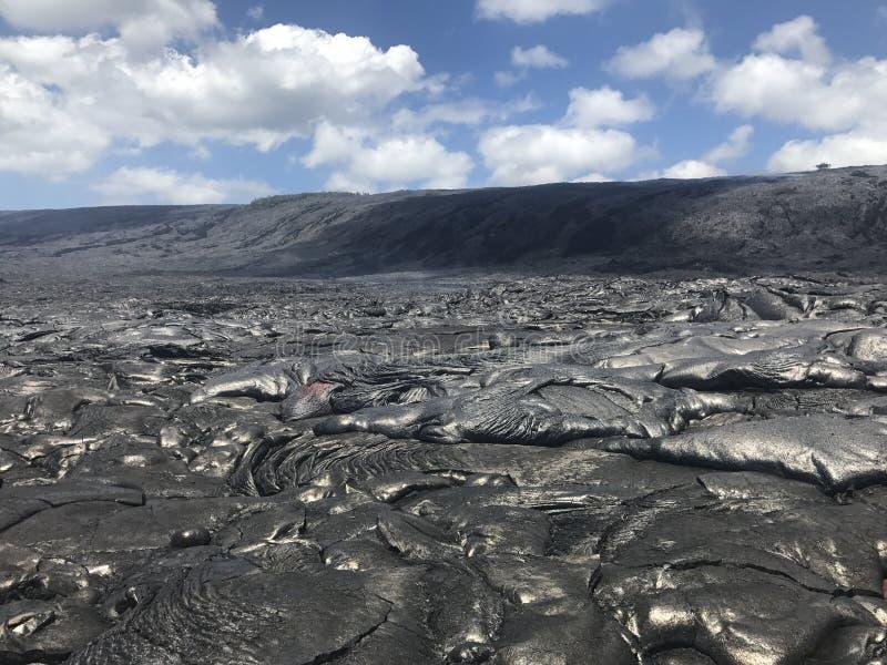 Hawaiiaanse Lava royalty-vrije stock afbeelding