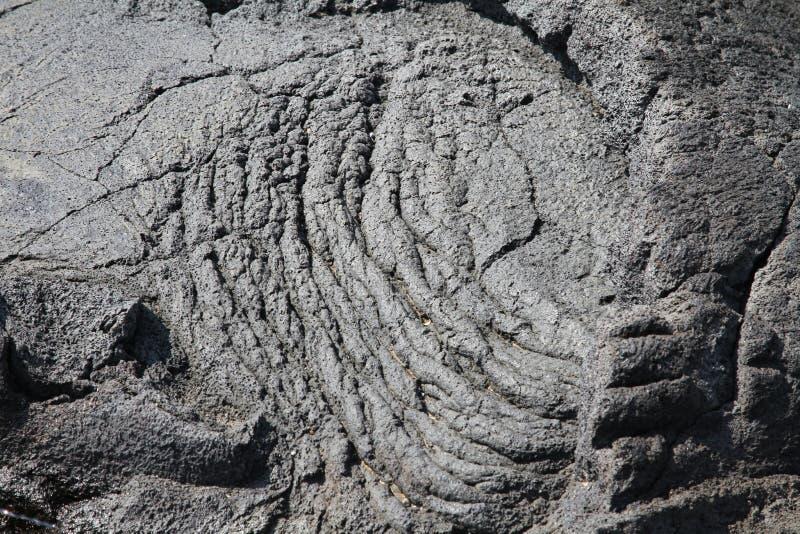 Hawaiiaanse Lava stock afbeelding
