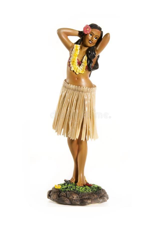 Hawaiiaanse pop Hula stock afbeeldingen