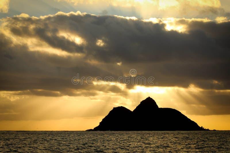 Hawaiiaanse Zonsopgang stock afbeelding