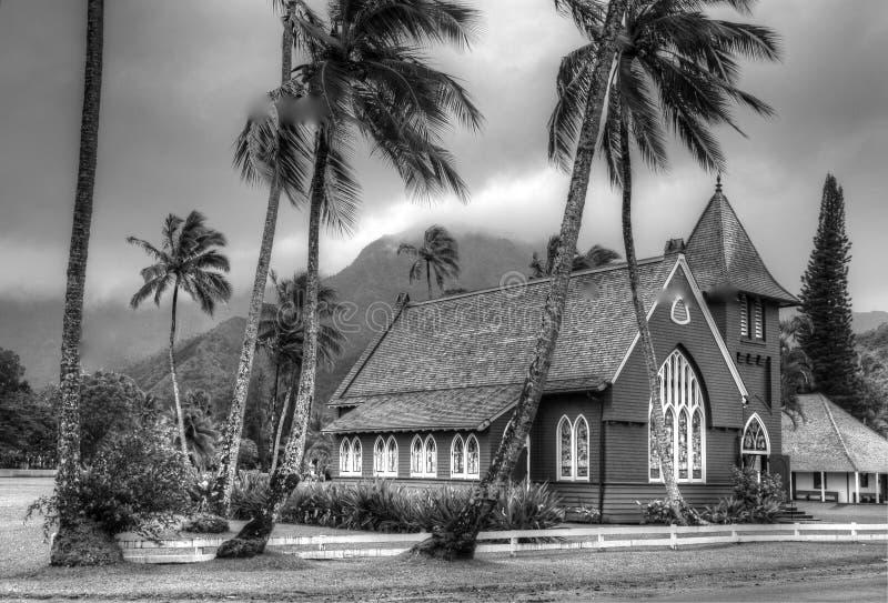 hawaiian церков стоковая фотография