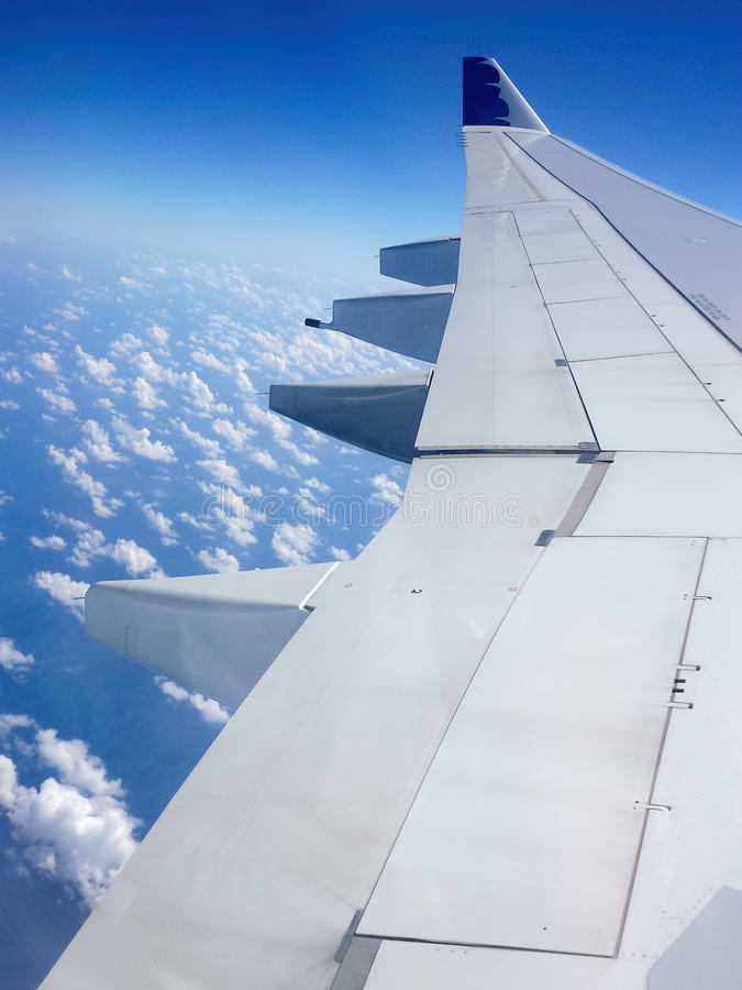 Hawaiian Airlines - plane ascends stock photography