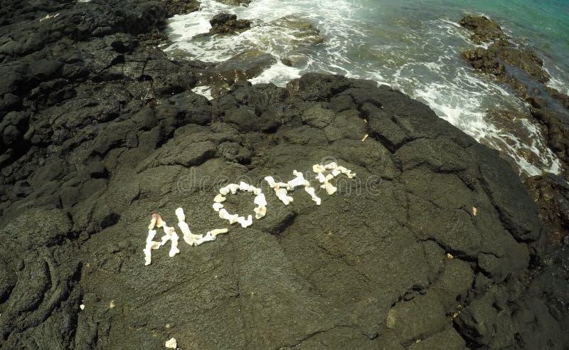 Hawaiian Aloha imagens de stock royalty free