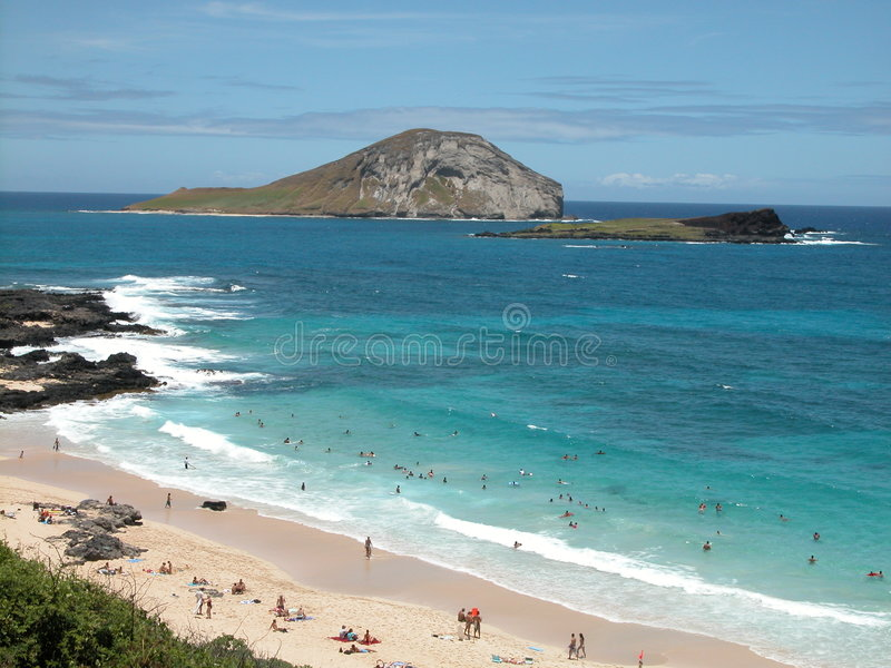 Download Hawaiian Beach Stock Image - Image: 1708411