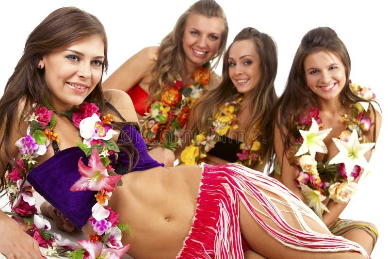 Download Hawaiian Hula Dancer Girls stock photo. Image of hawaii - 16645552