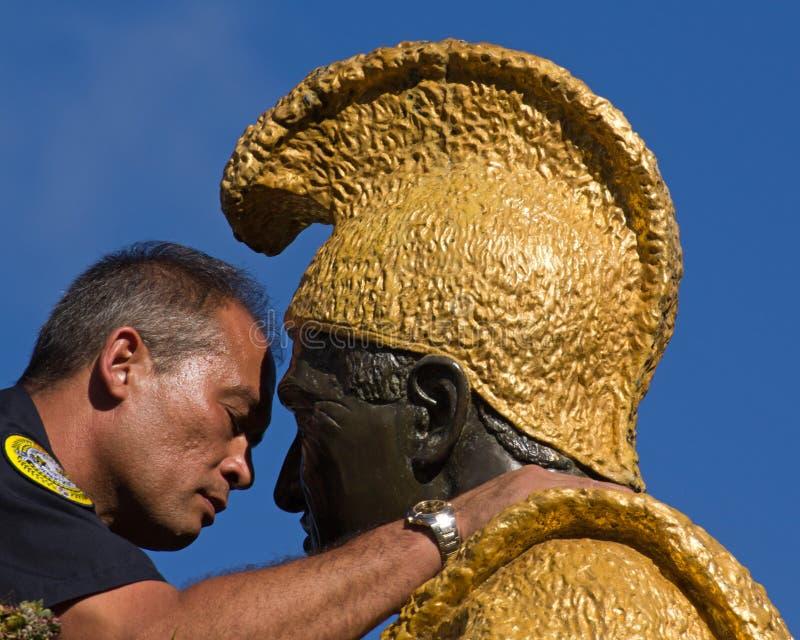 Hawaiian kiss royalty free stock photo