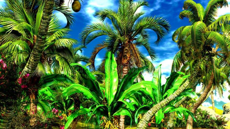 Download Hawaiian paradise stock illustration. Image of paradise - 23513638