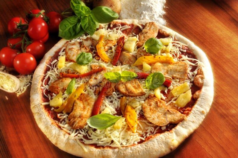 Download Hawaiian pizza stock image. Image of board, flour, healthy - 8765947