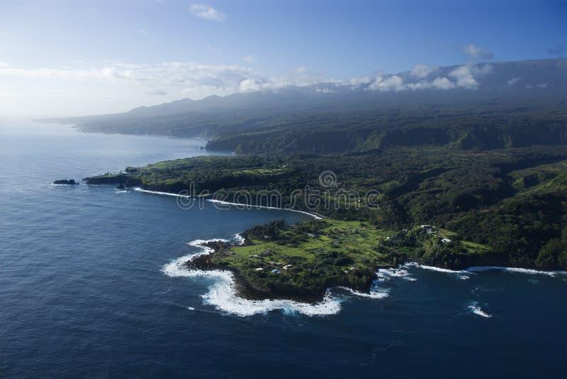 Hawaiian Shoreline. Royalty Free Stock Photography