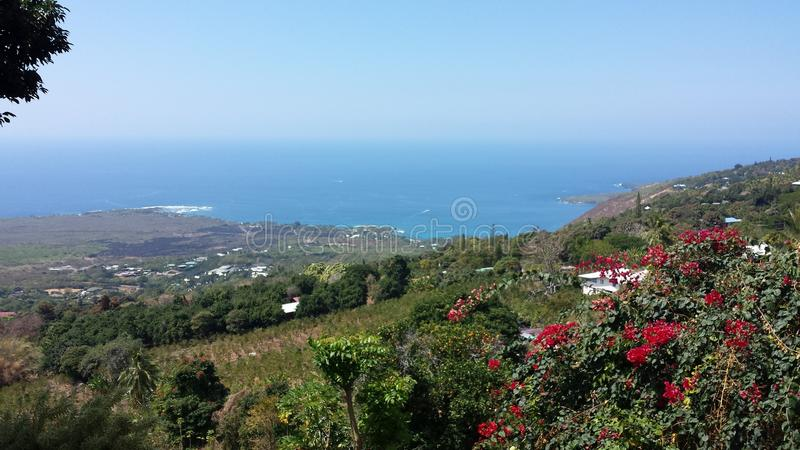 Hawaiische Ansicht stockbilder
