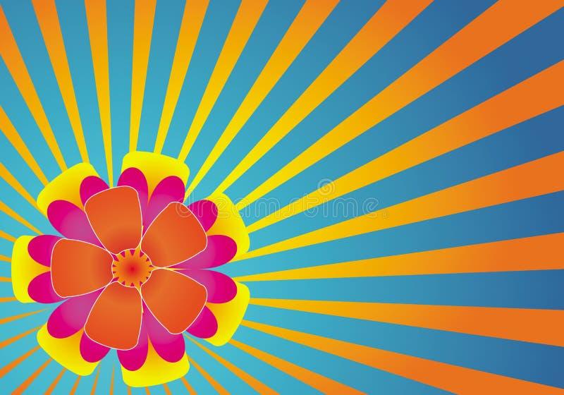 Hawaiische Blumen lizenzfreie abbildung