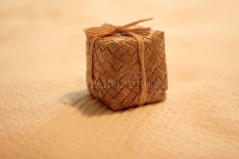 Hawaiischer Geschenk-Kasten Stockfoto