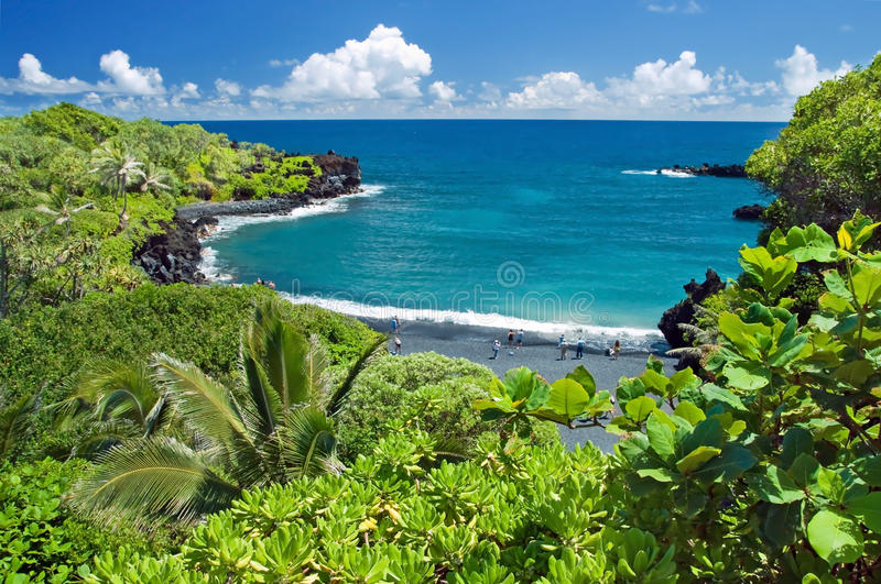 Hawaje raj na Maui wyspie obrazy royalty free