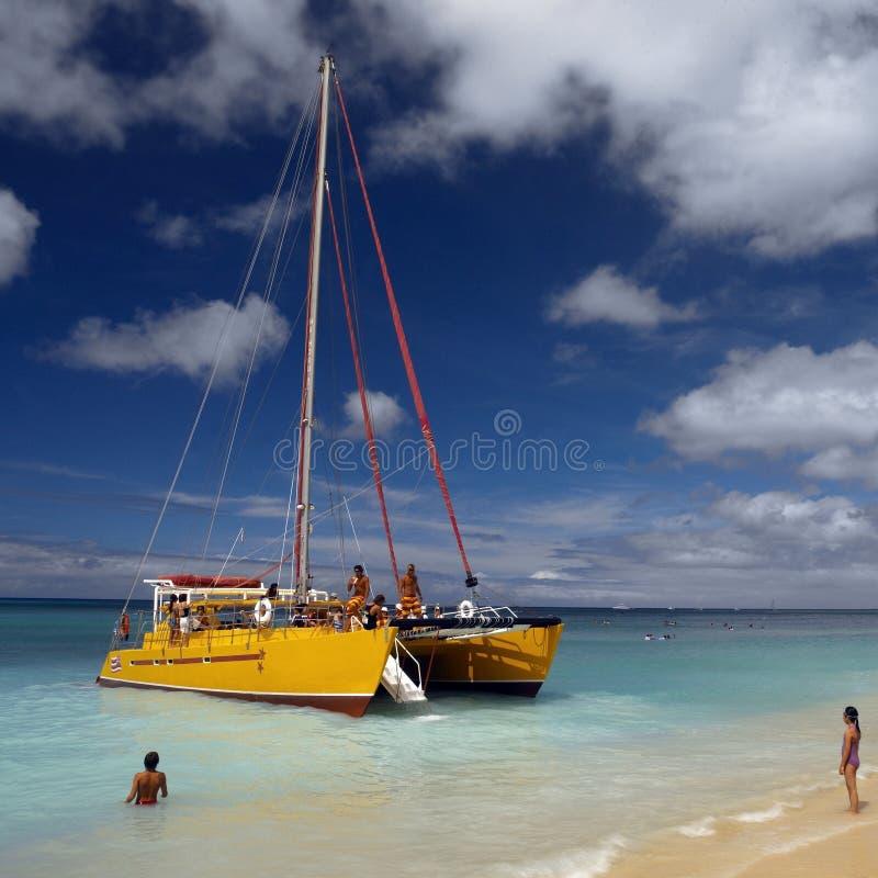 Hawaje Waikiki Plaża - zdjęcie royalty free