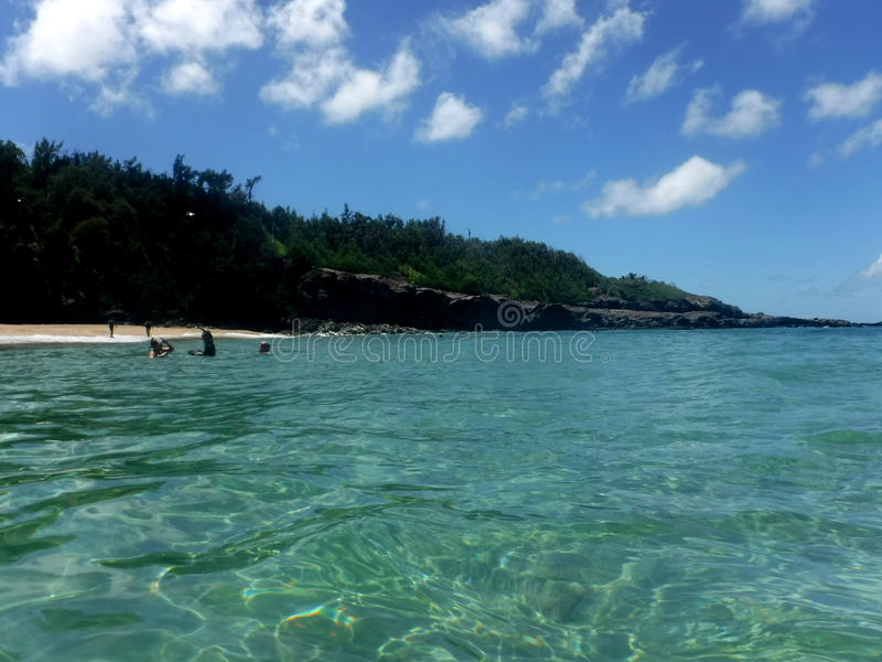 Hawajscy brzeg obraz stock