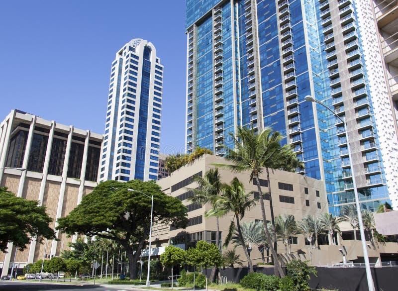 Hawajska miasto ulica fotografia royalty free