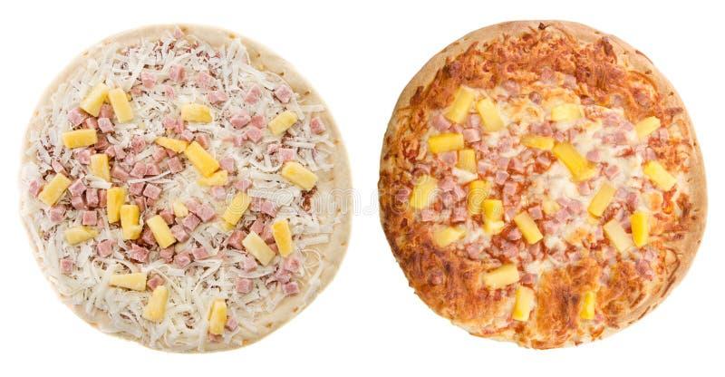 Hawajska Pizza Obrazy Royalty Free