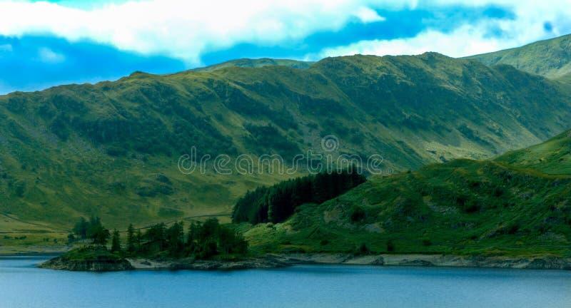 Haweswater rezerwuar, Cumbria obrazy royalty free